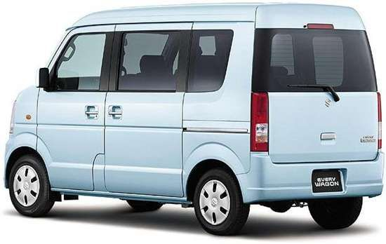 """Small """"K"""" Cars in Japan: J-List's New Suzuki Every Wagon ..."""