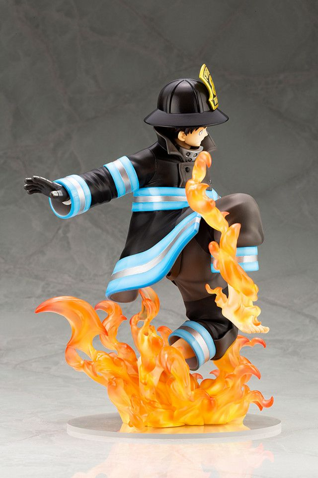 This Kotobukiya Fire Force Figure Actually Glows In The