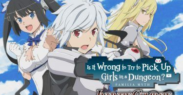 Is it Wrong to Try to Pick Up Girls in a Dungeon? Featured Image