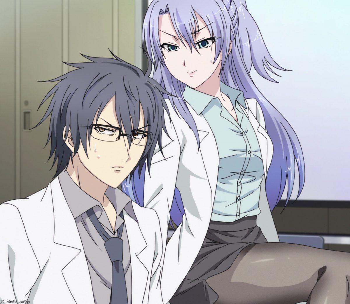 Rikei Ga Koi Ni Ochita No De Shoumei Shitemita Episode 2 Ayame Smug Look At Shinya