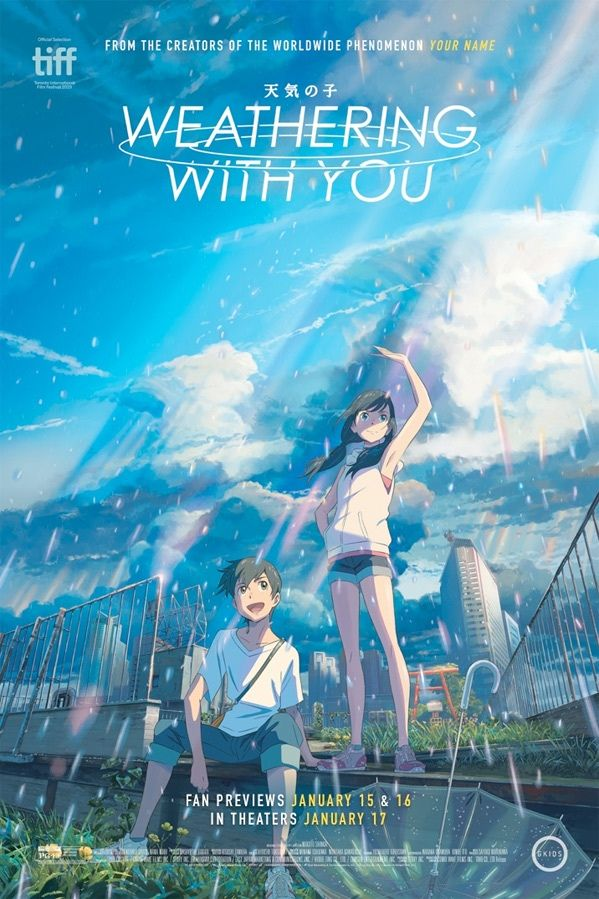 Weathering With You Anime English Cover