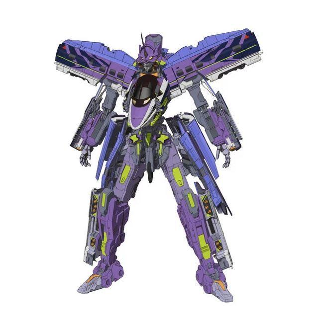 Evangelion Shinkalion Robot Eva