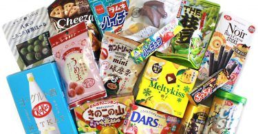 Enjoy All These Japanese Snacks In The Deluxe Box!