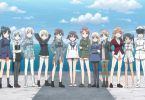 Strike Witches Road To Berlin ED 501st Joint Fighter Wing Strike Witches Lined Up