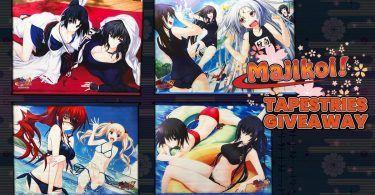 Majikoi Tapestries Giveaway Banner