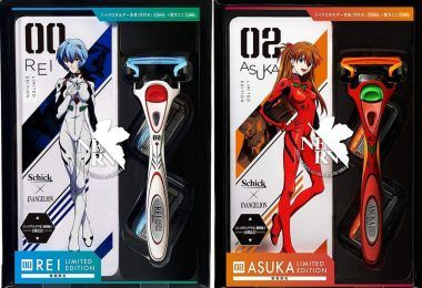 Official Evangelion Razors From Schick